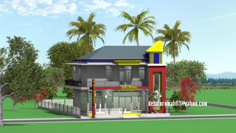 Rumah Toko Minimalis Desain ... & Rumah Toko Minimalis \u2013 RUKO | DESAIN RUMAH 69 \u2013 hp.0838.9230.5999 ...