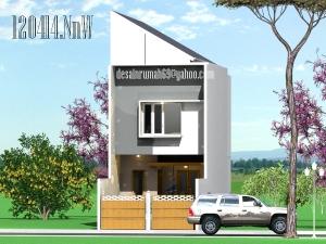 Desain Rumah Minimalis di Lahan Sempit 5m