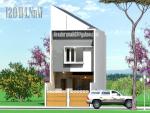 Desain Rumah Minimalis di Lahan Sempit 5 m